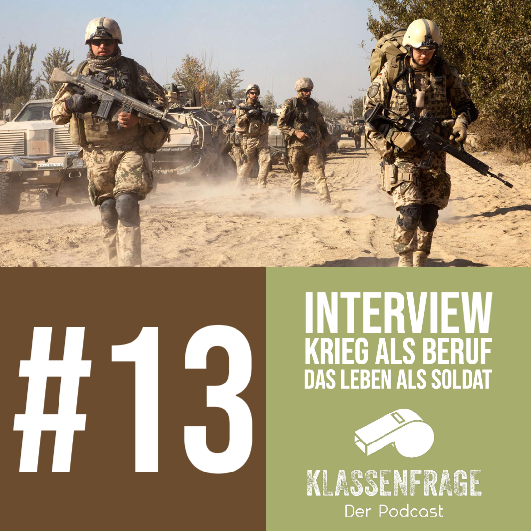 #13 Krieg als Beruf